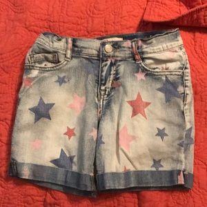 l.e.i. Girl's jean short size 10